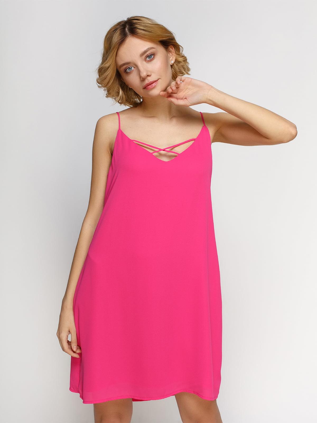 Платье розовое | 3861875