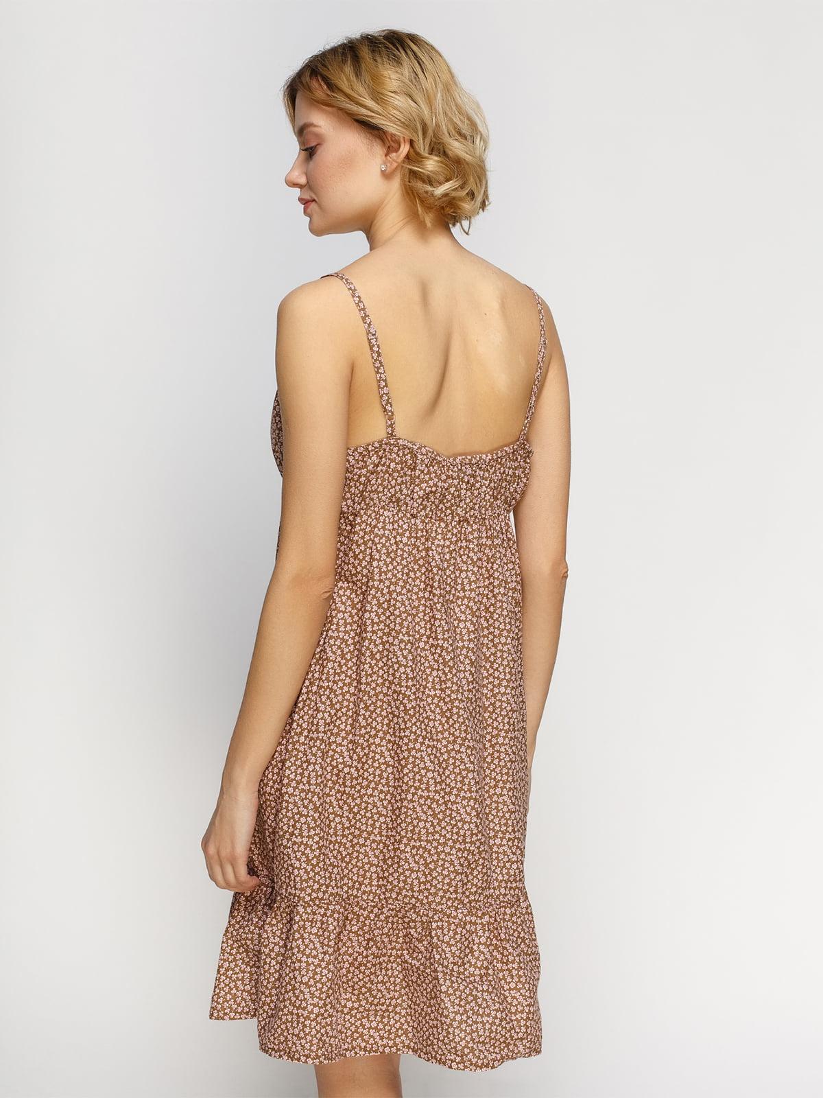 Платье в цветочный принт | 4632629 | фото 2