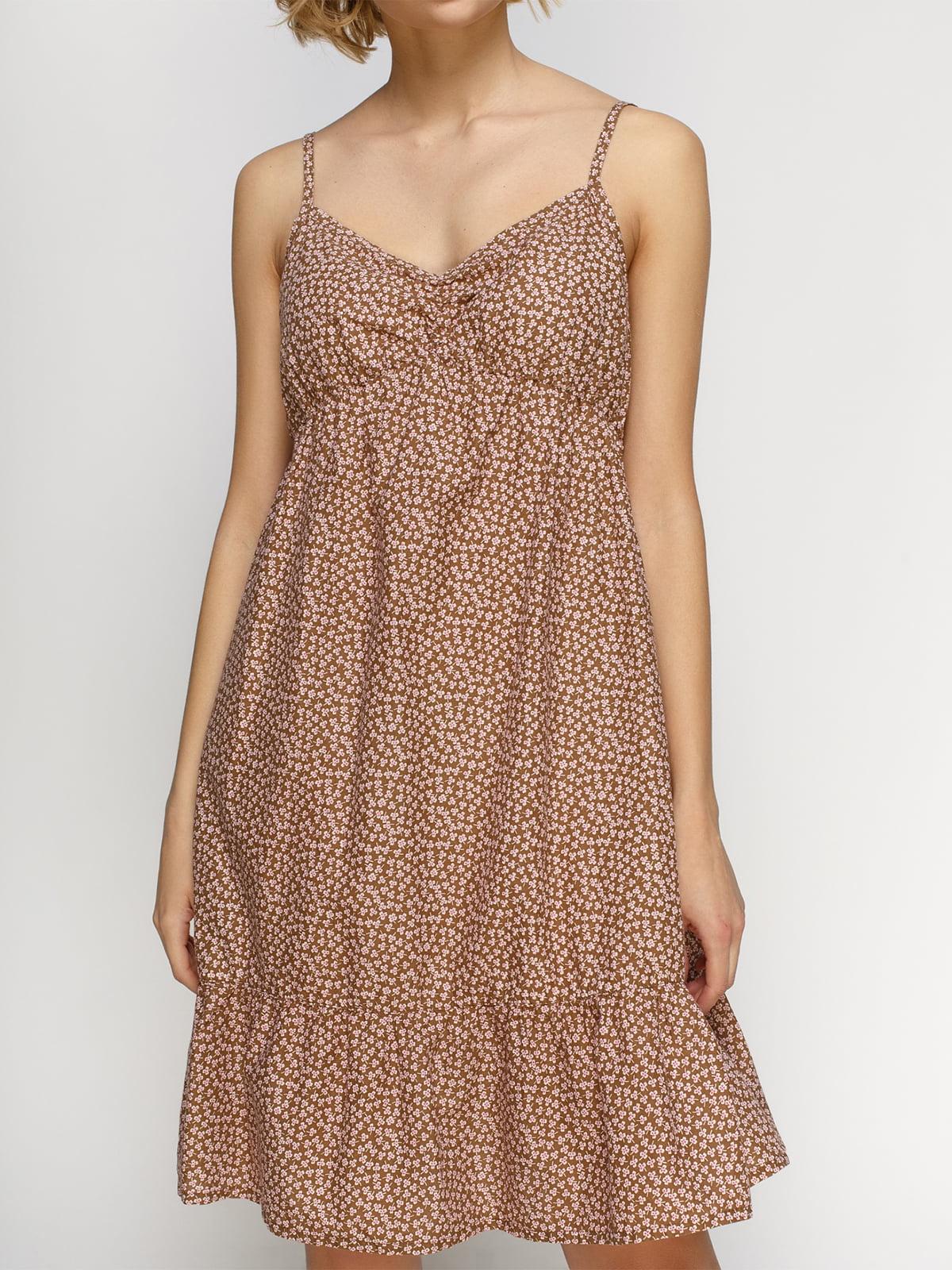 Платье в цветочный принт | 4632629 | фото 3