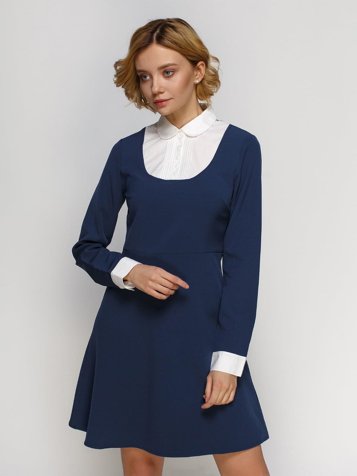 Платье синее | 4542774