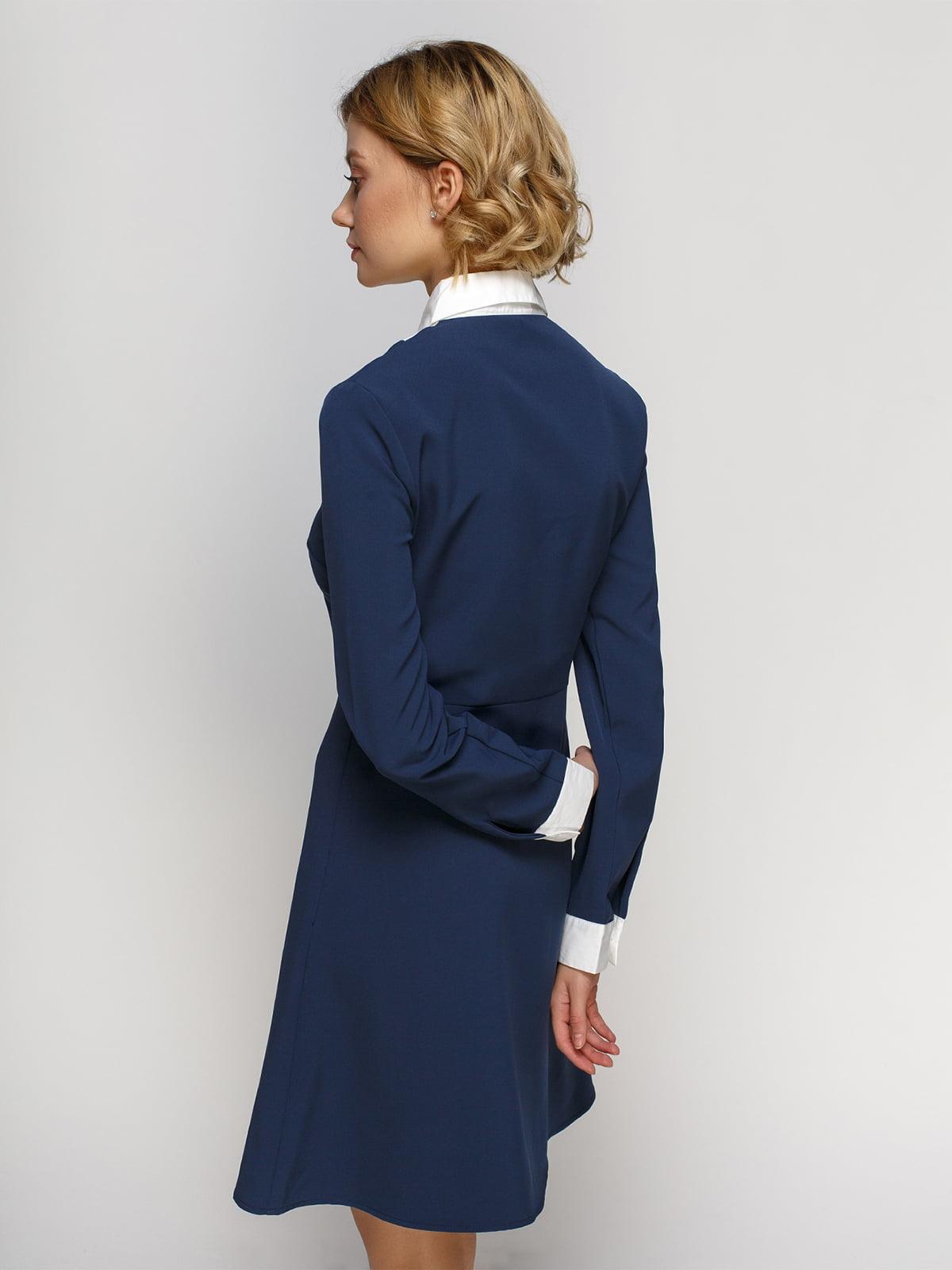 Платье синее | 4542774 | фото 2
