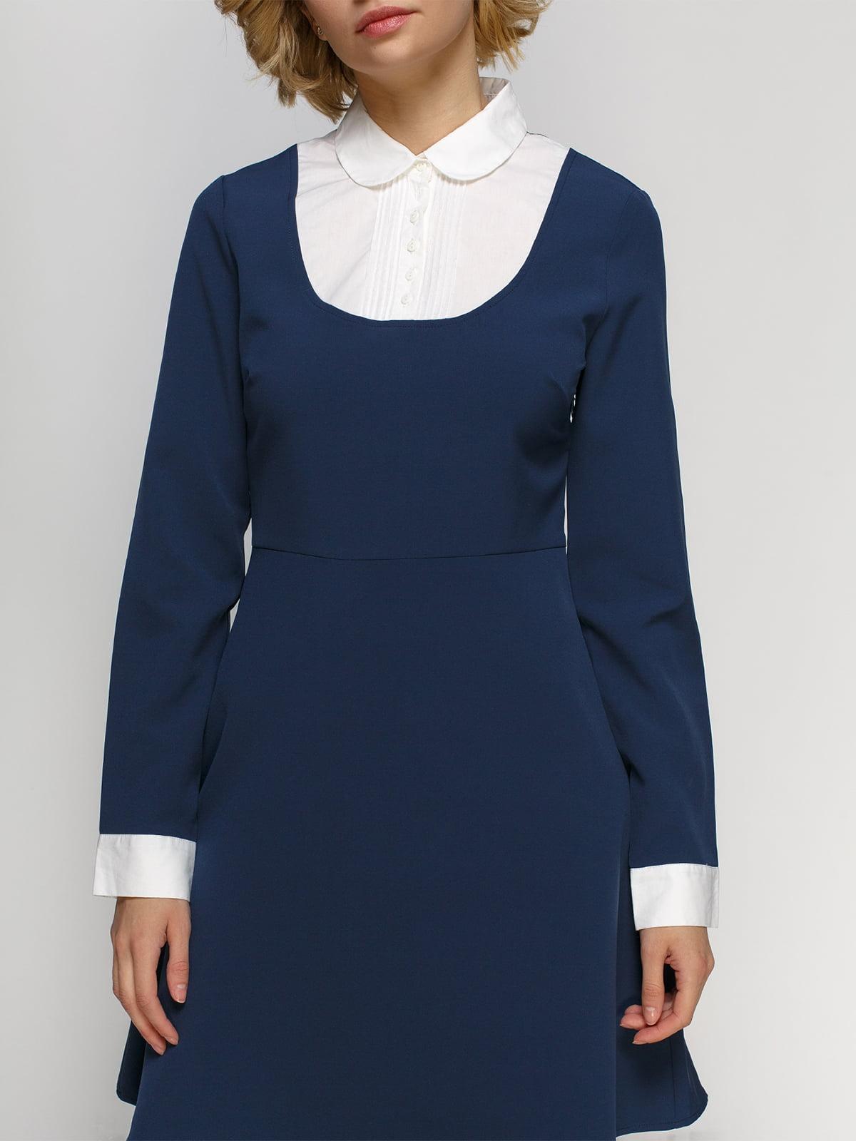 Платье синее | 4542774 | фото 3