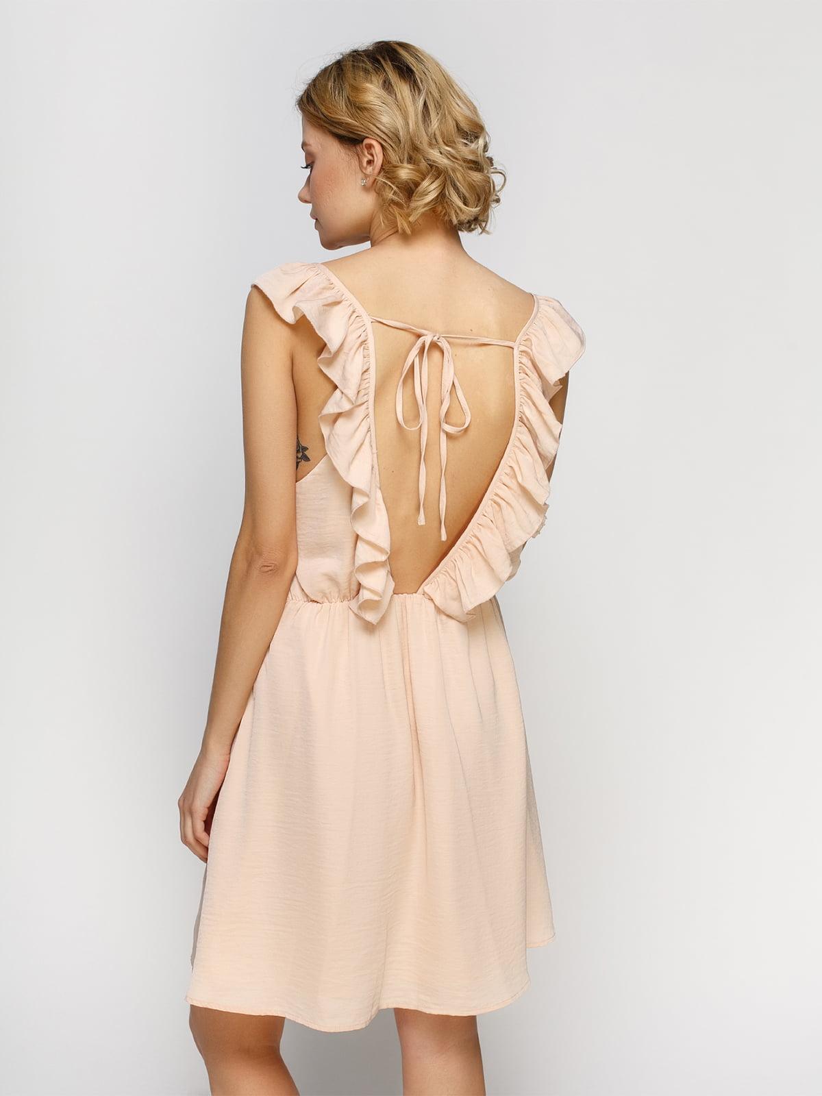 Платье светло-персикового цвета | 4546018 | фото 2