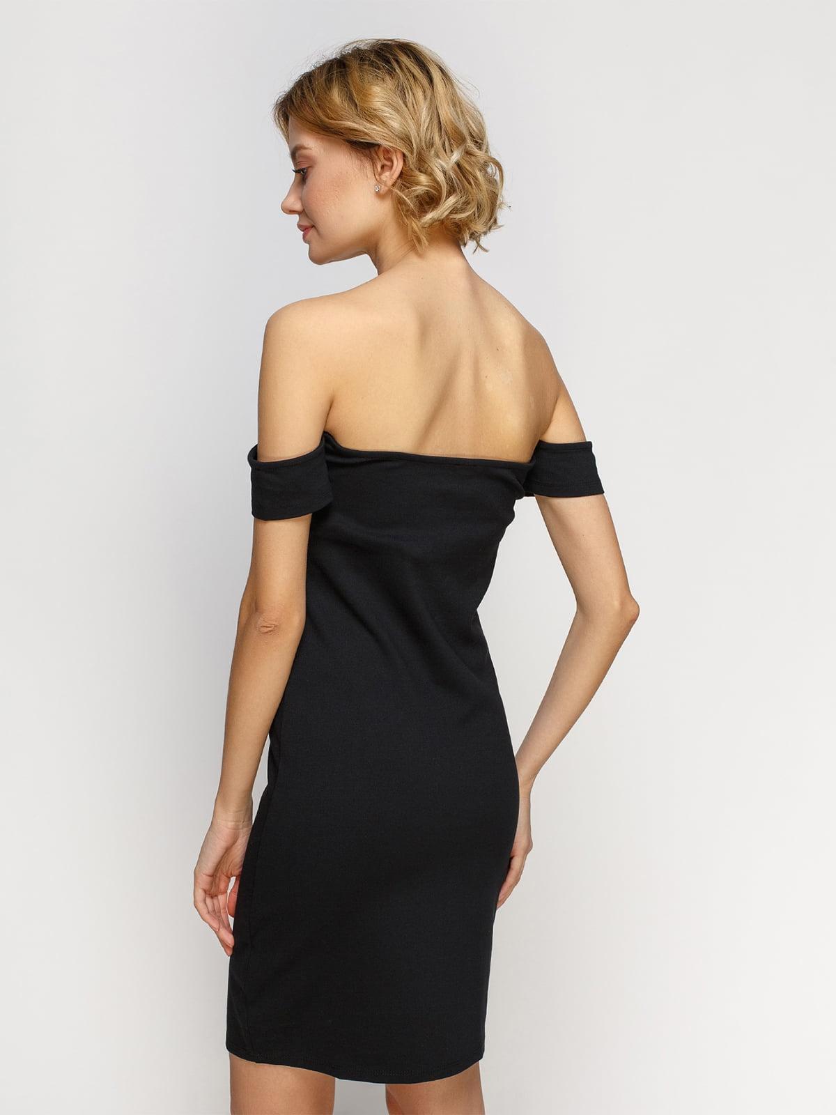 Платье черное | 4546035 | фото 2