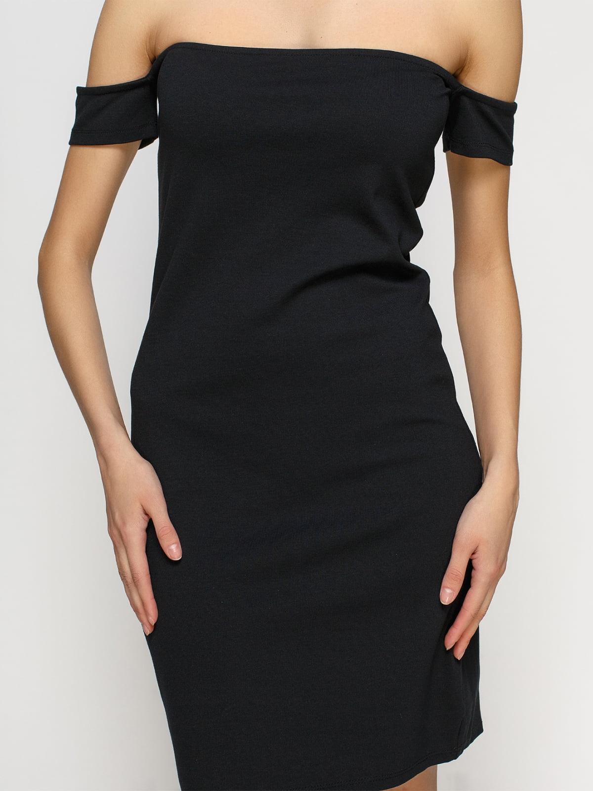 Платье черное | 4546035 | фото 3
