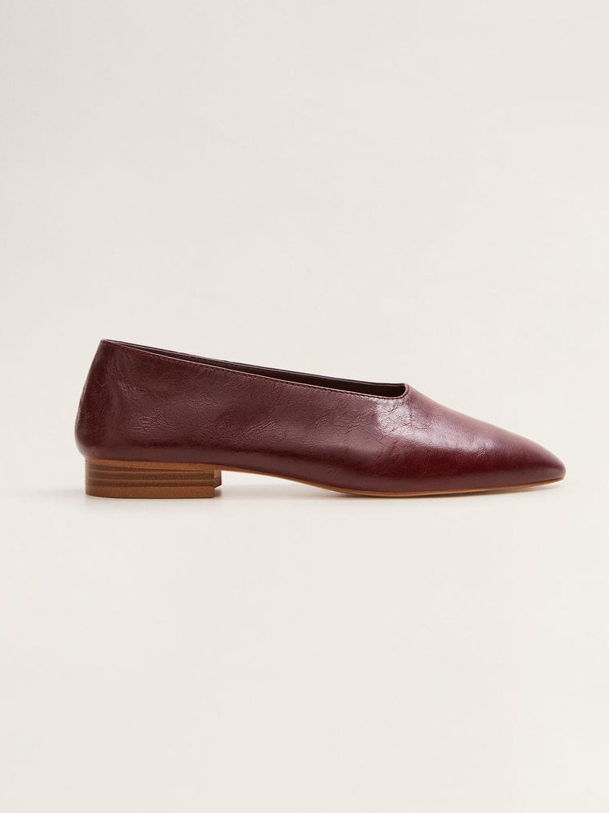 Туфлі бордові | 4861063