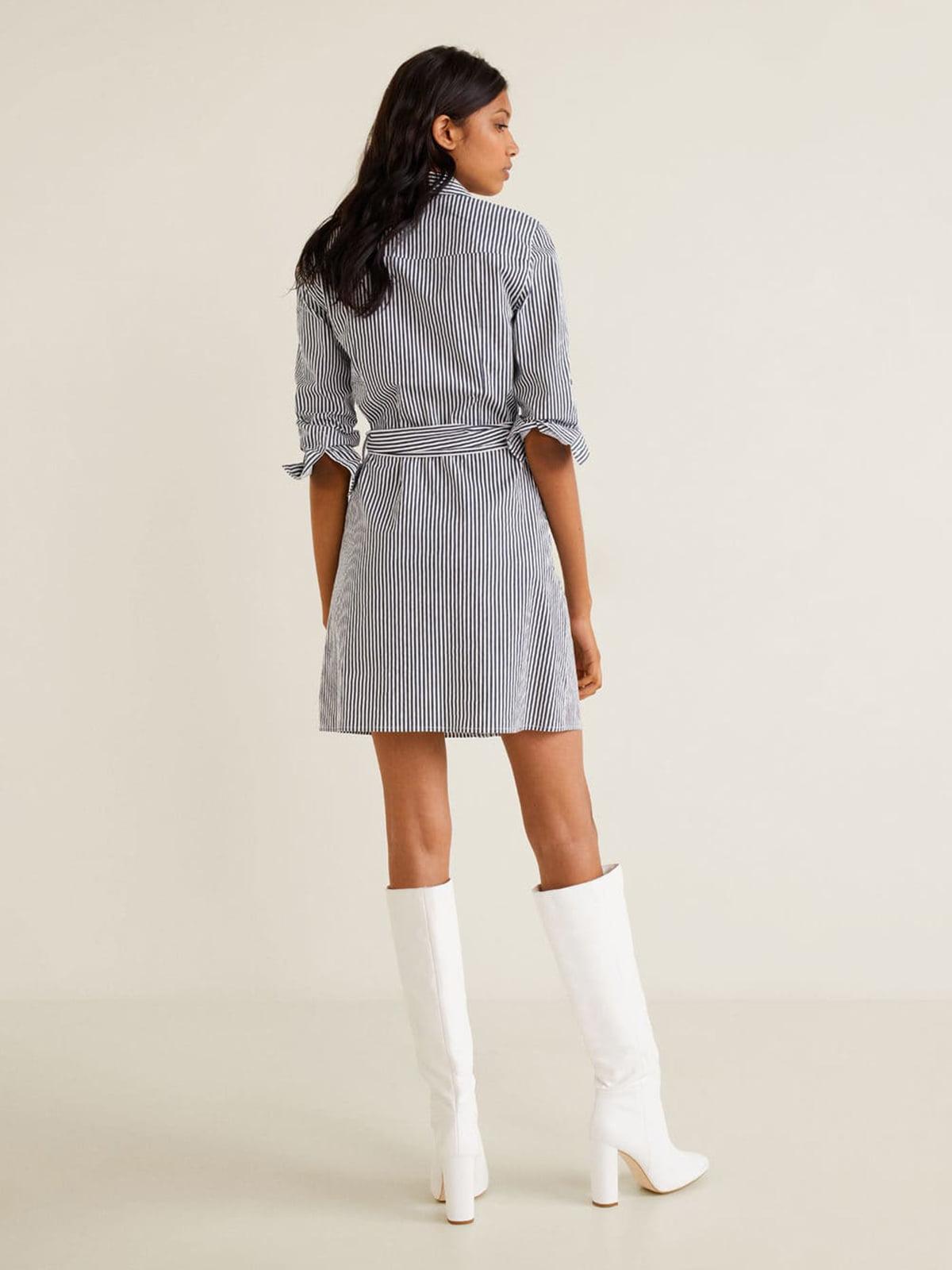 Платье в полоску | 4861203 | фото 2