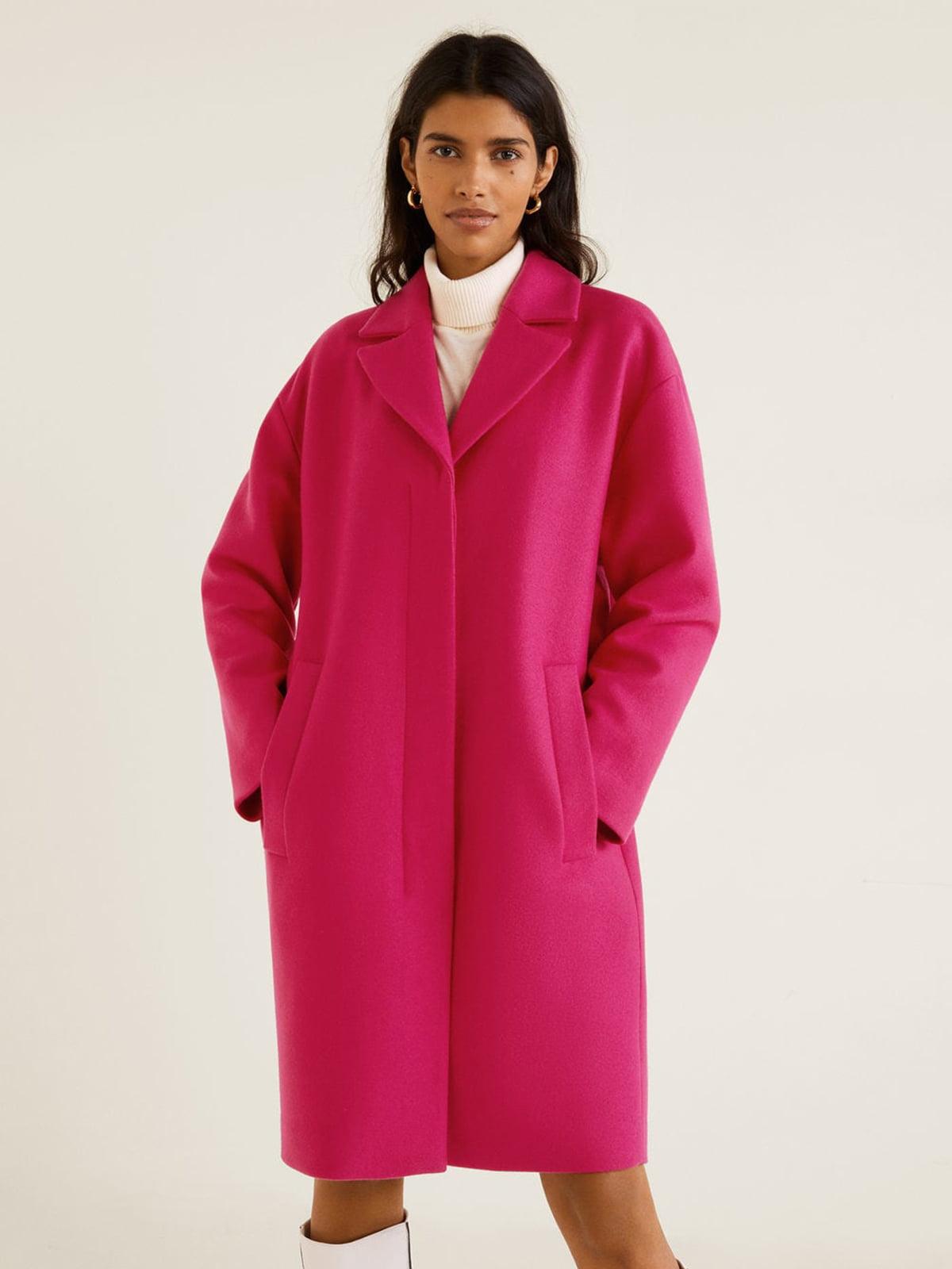 Пальто кольору фуксії | 4866911 | фото 2