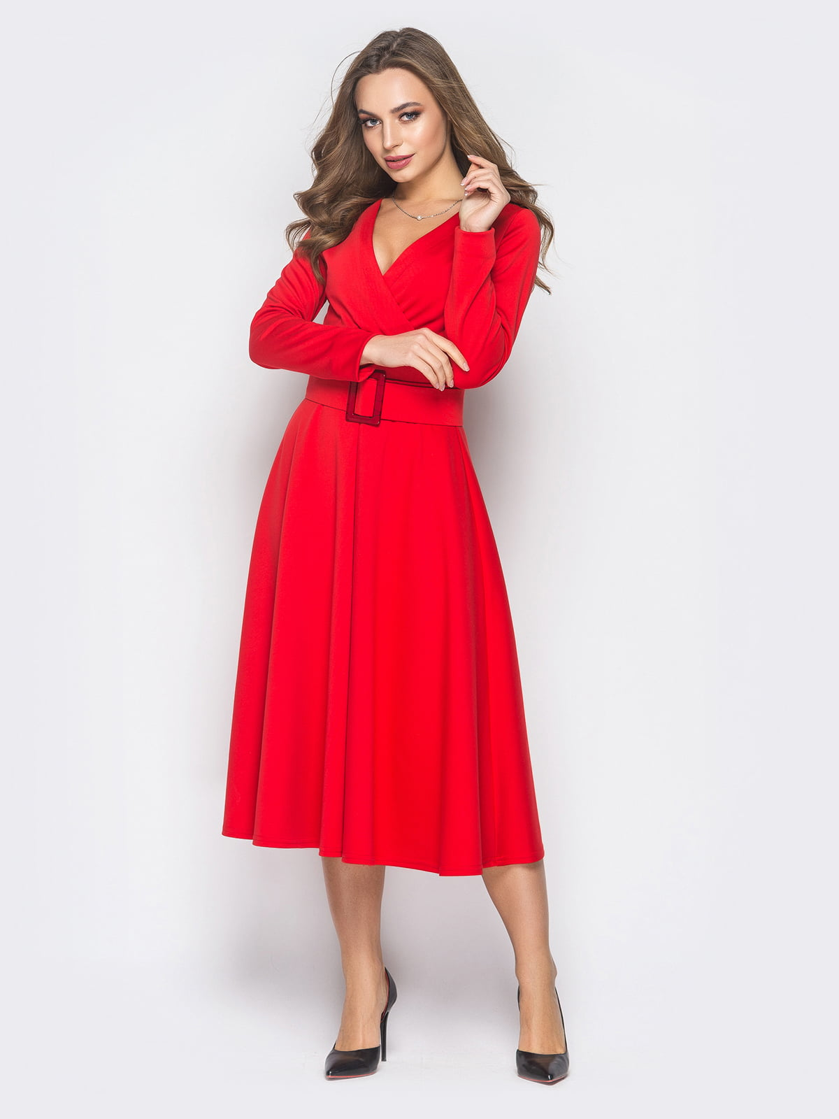 Платье красное | 4868180