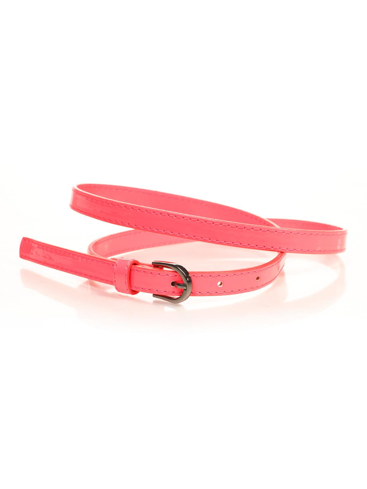 Ремінь яскраво-рожевий | 4635822