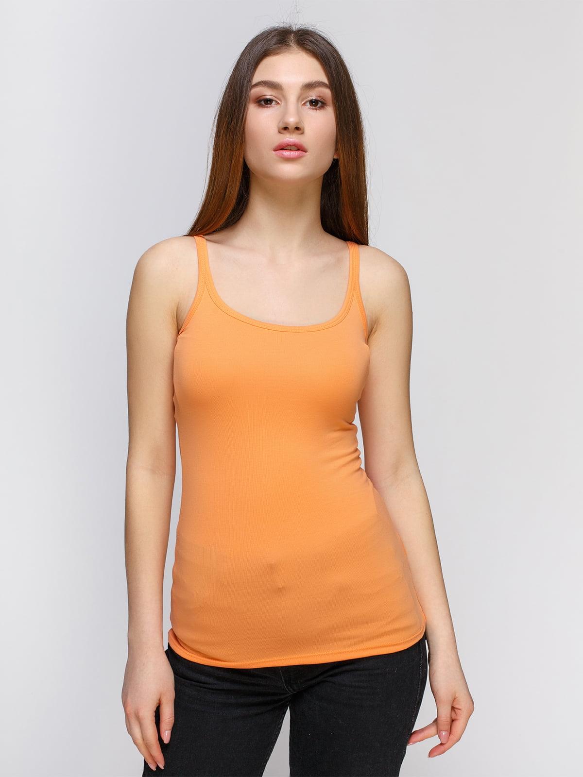 Майка оранжевая   4626754