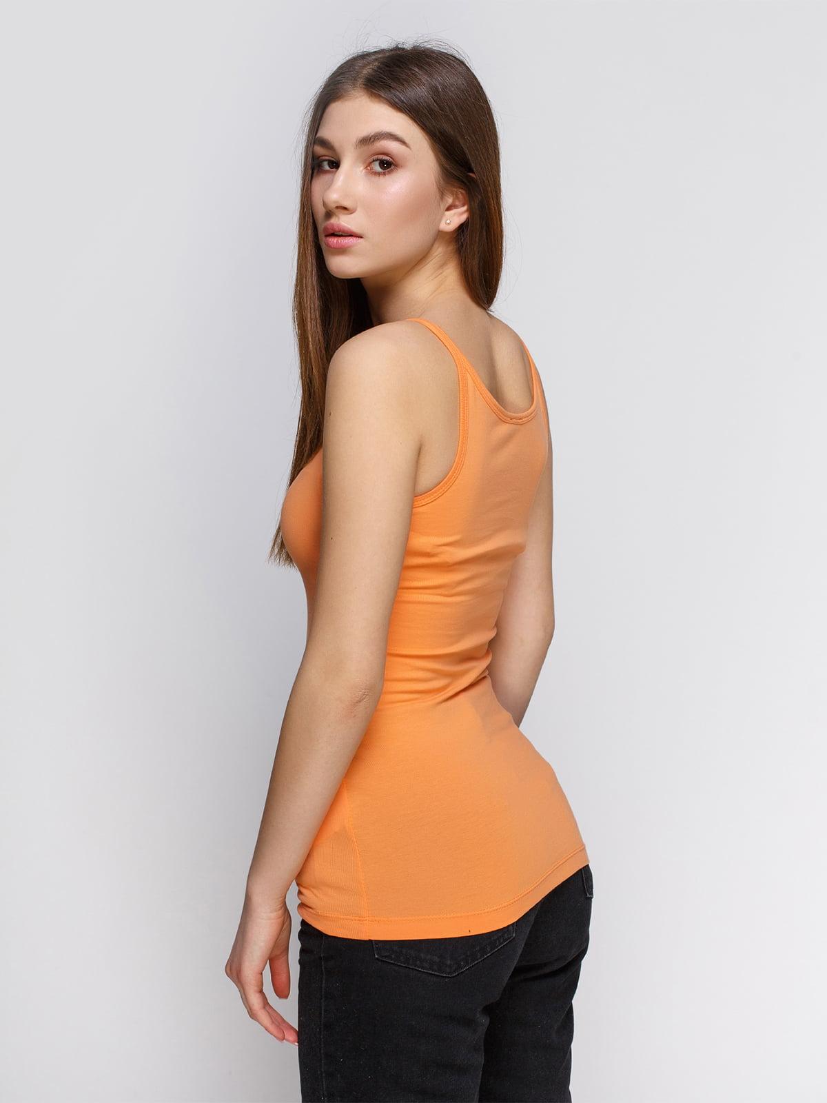 Майка оранжевая   4626754   фото 2