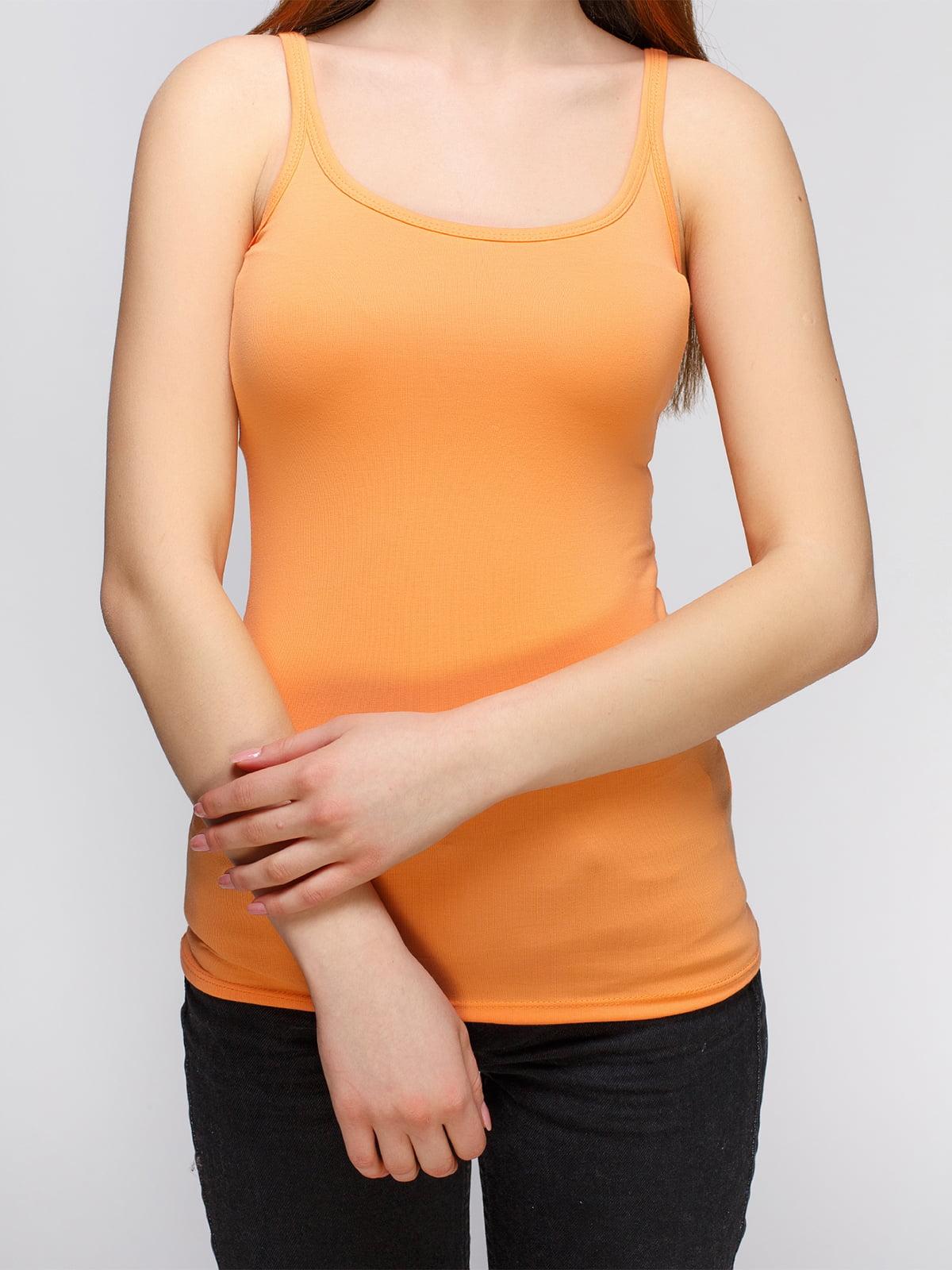 Майка оранжевая   4626754   фото 3