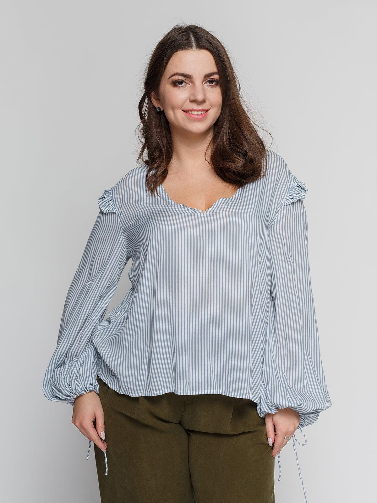 Блуза в смужку | 4840088