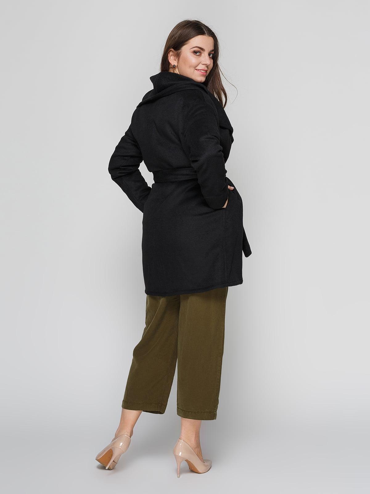 Пальто черное | 4790545 | фото 3