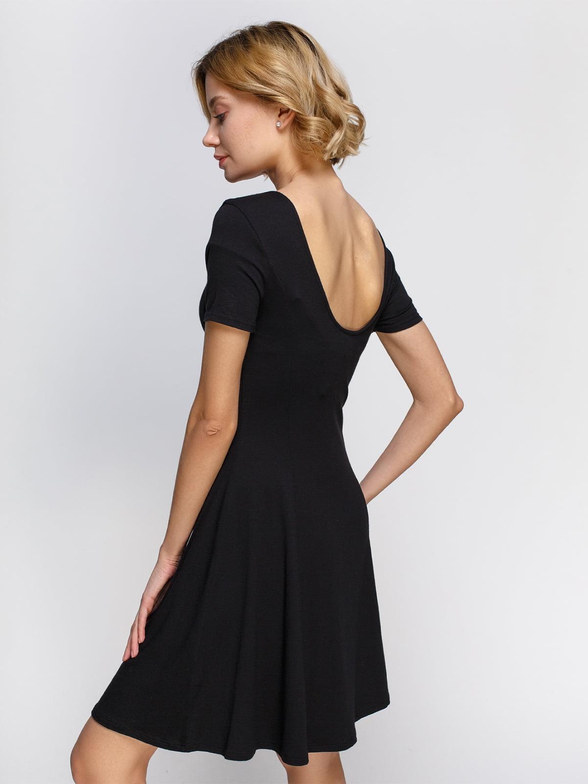 Платье черное | 4546032 | фото 2