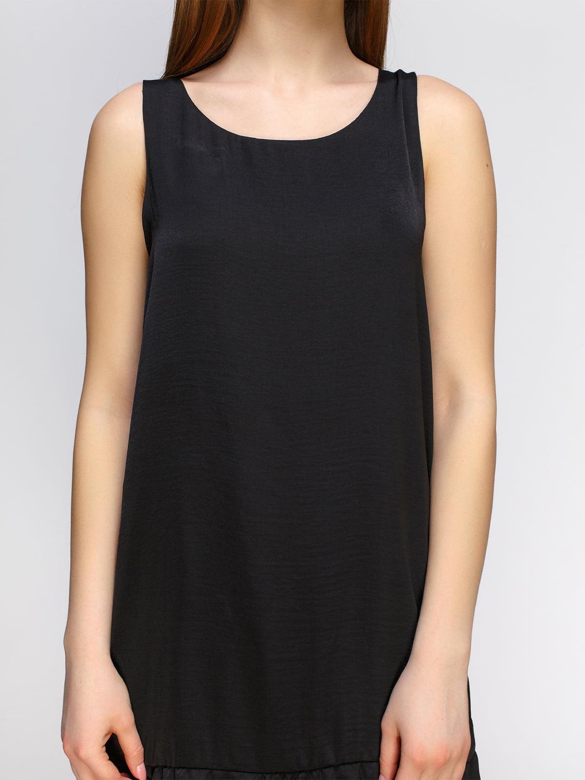 Платье черное | 4546034 | фото 3