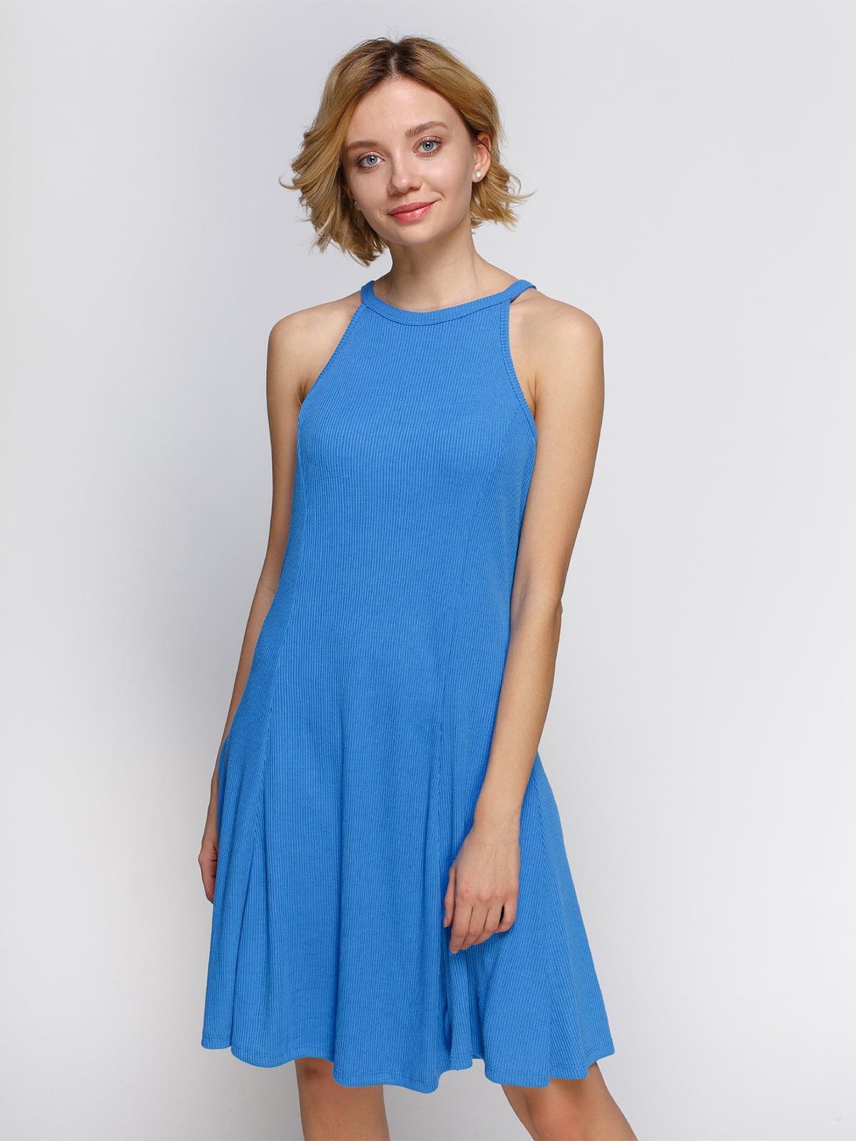 Платье голубое | 4555949