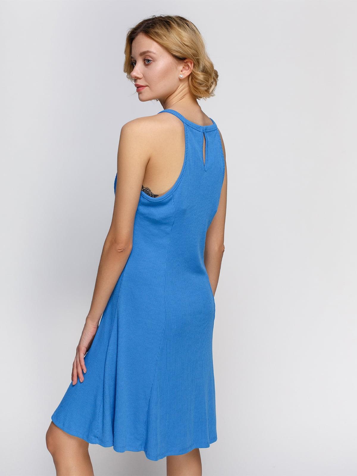 Платье голубое | 4555949 | фото 2