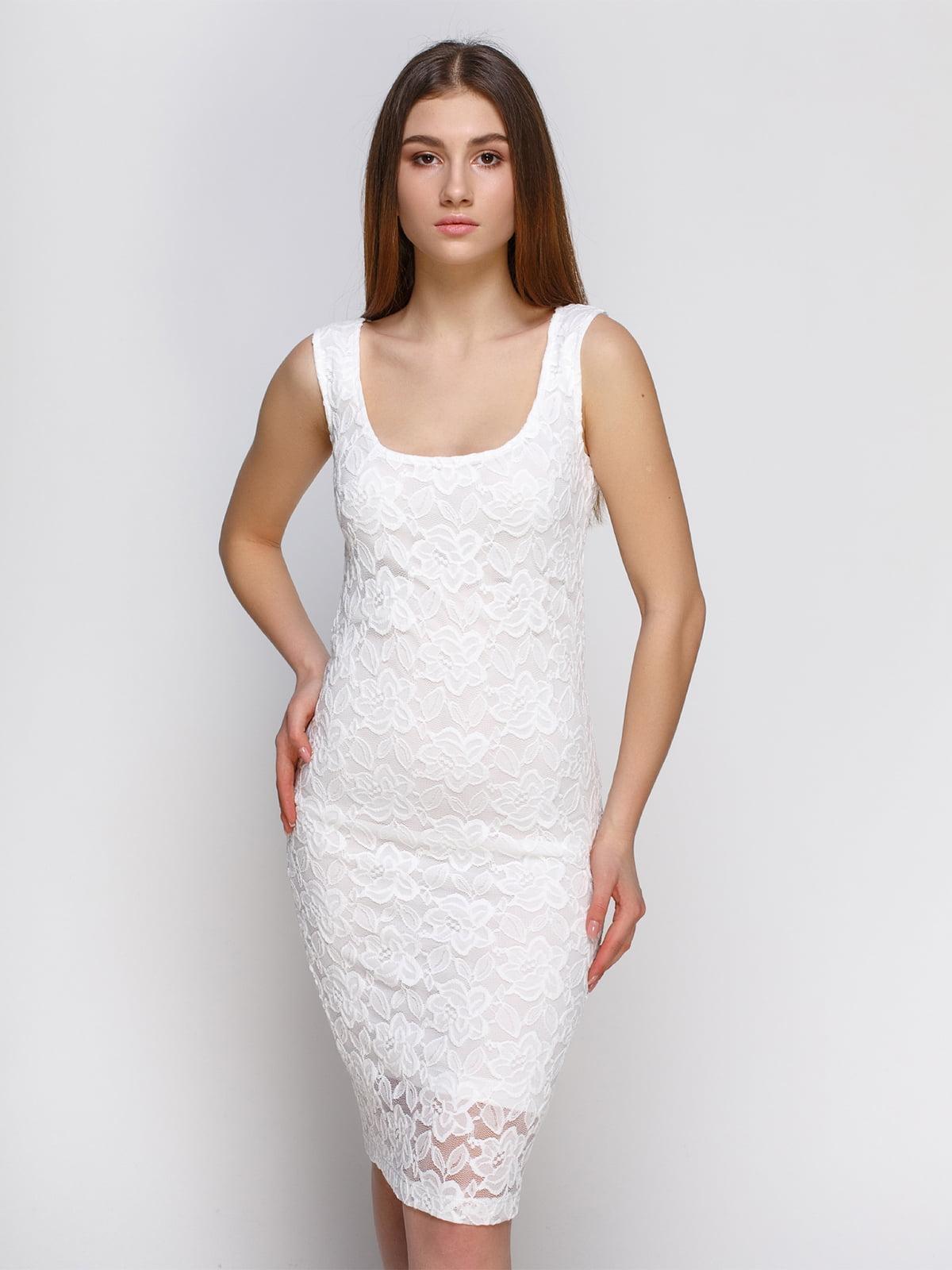Платье белое | 4546013