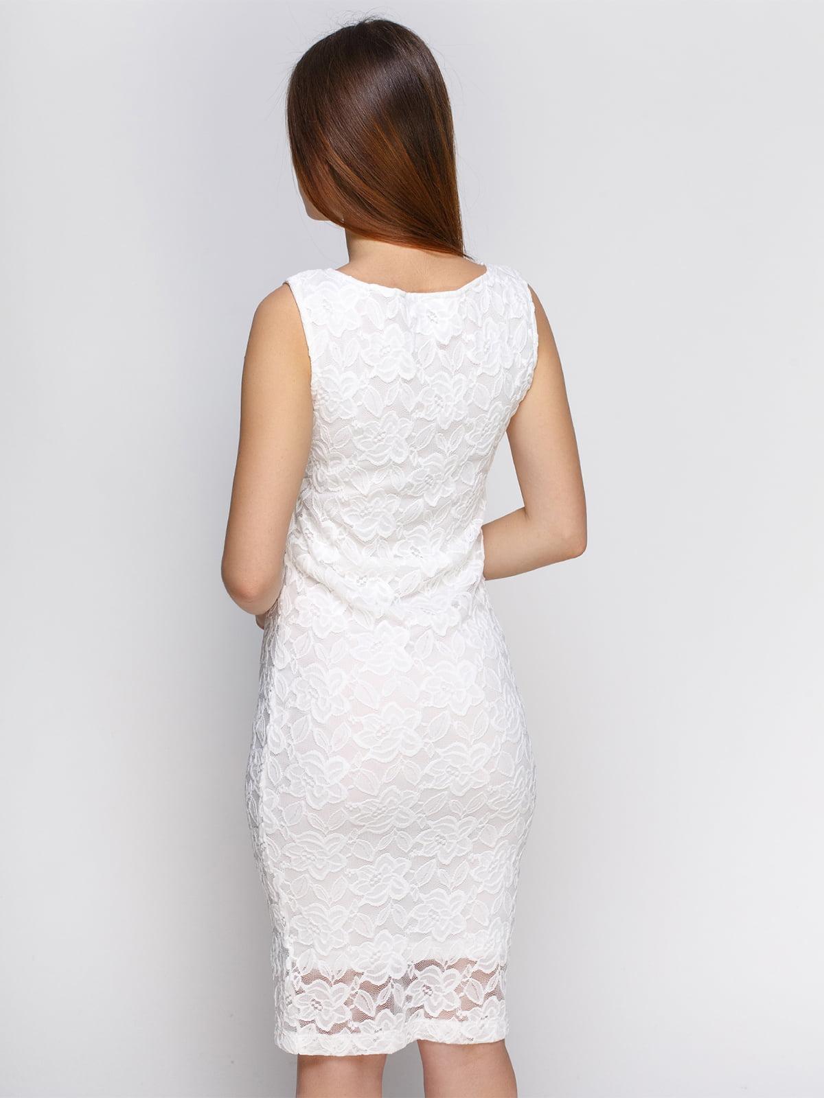 Платье белое | 4546013 | фото 2