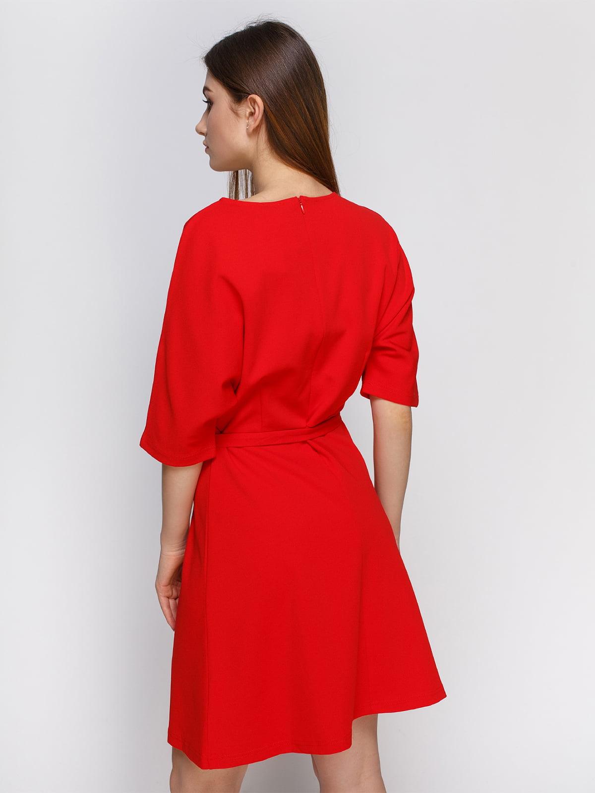 Платье коралловое   4546066   фото 2