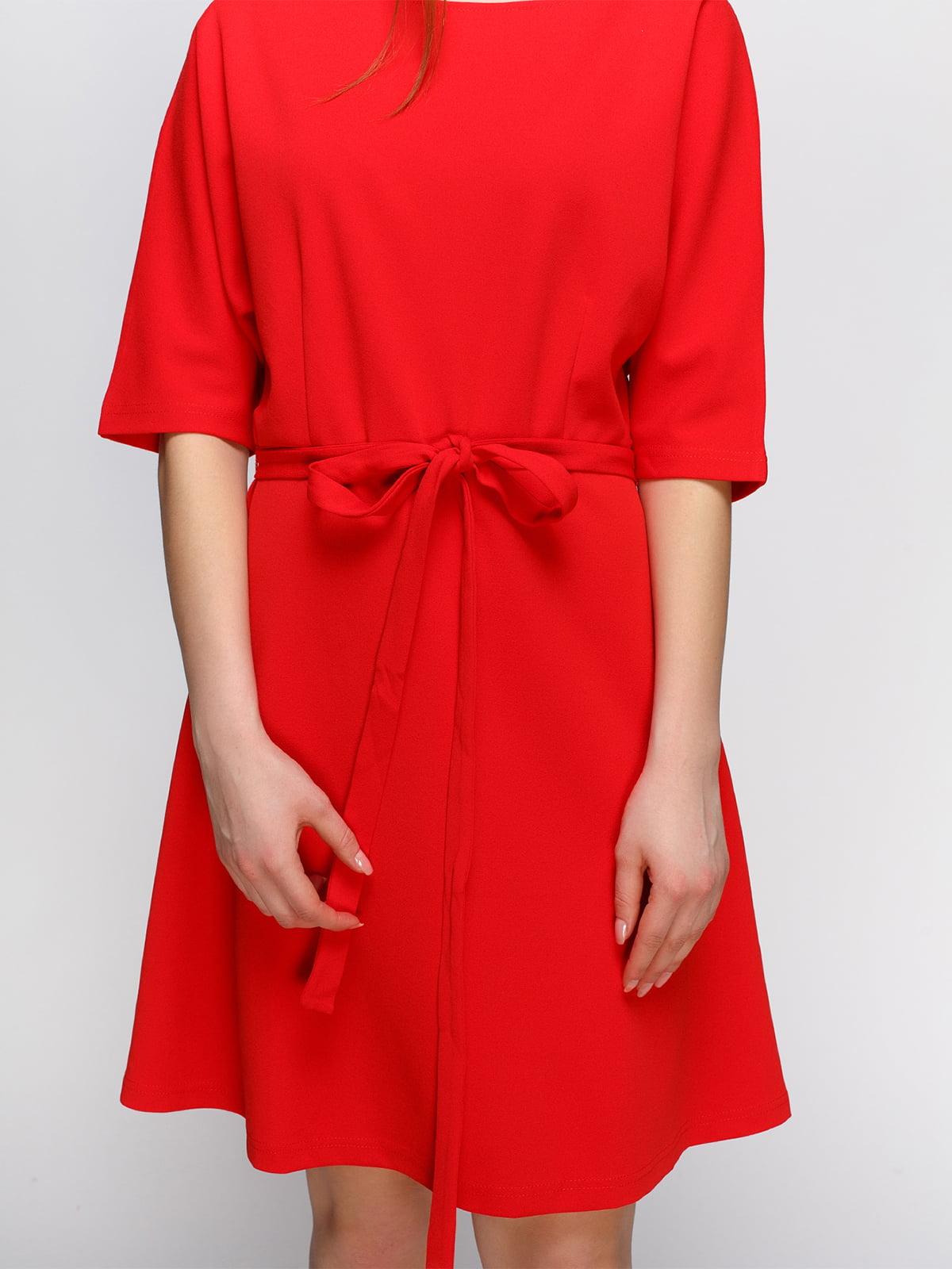 Платье коралловое   4546066   фото 3