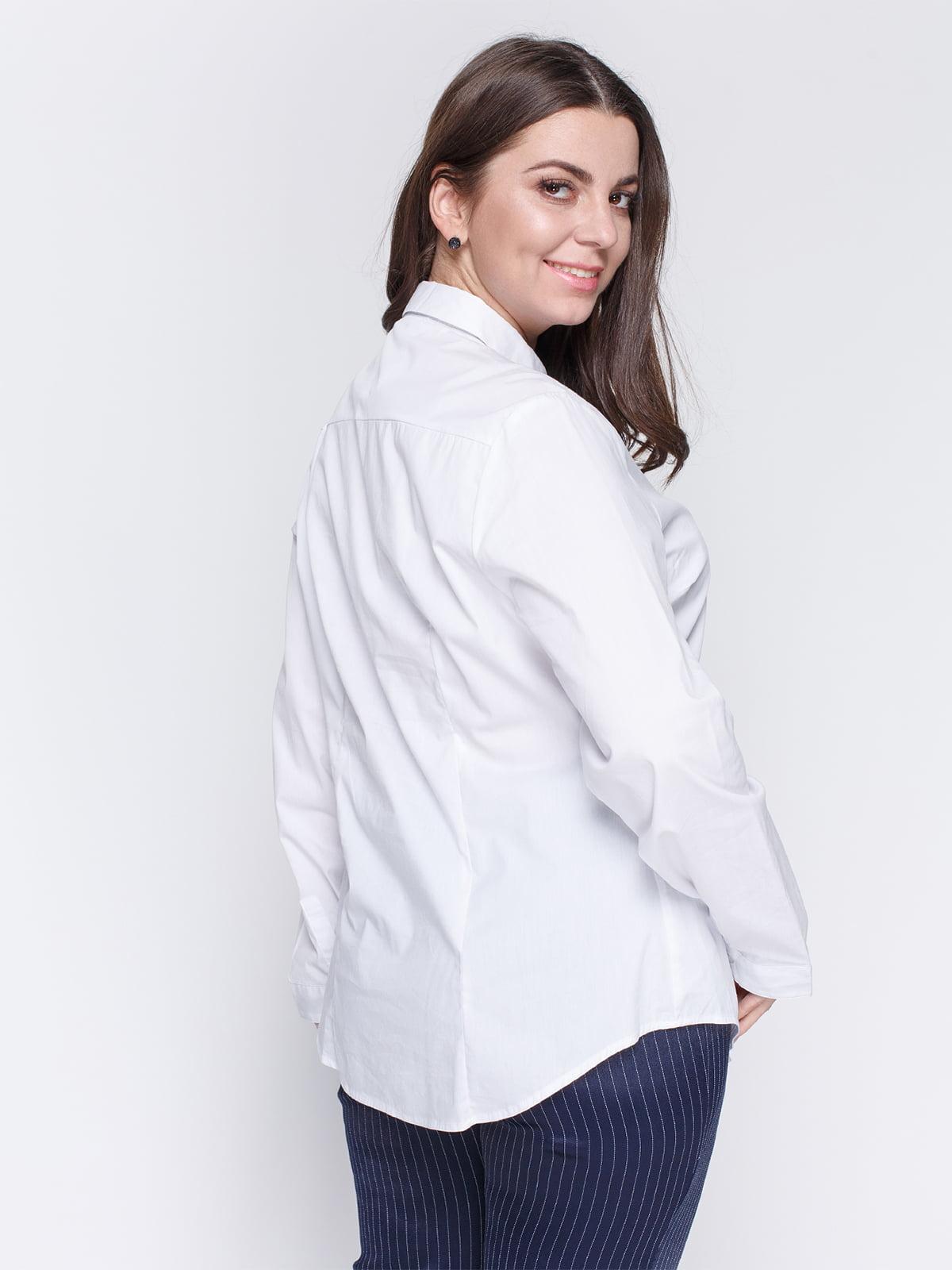 Рубашка белая   4629570   фото 2