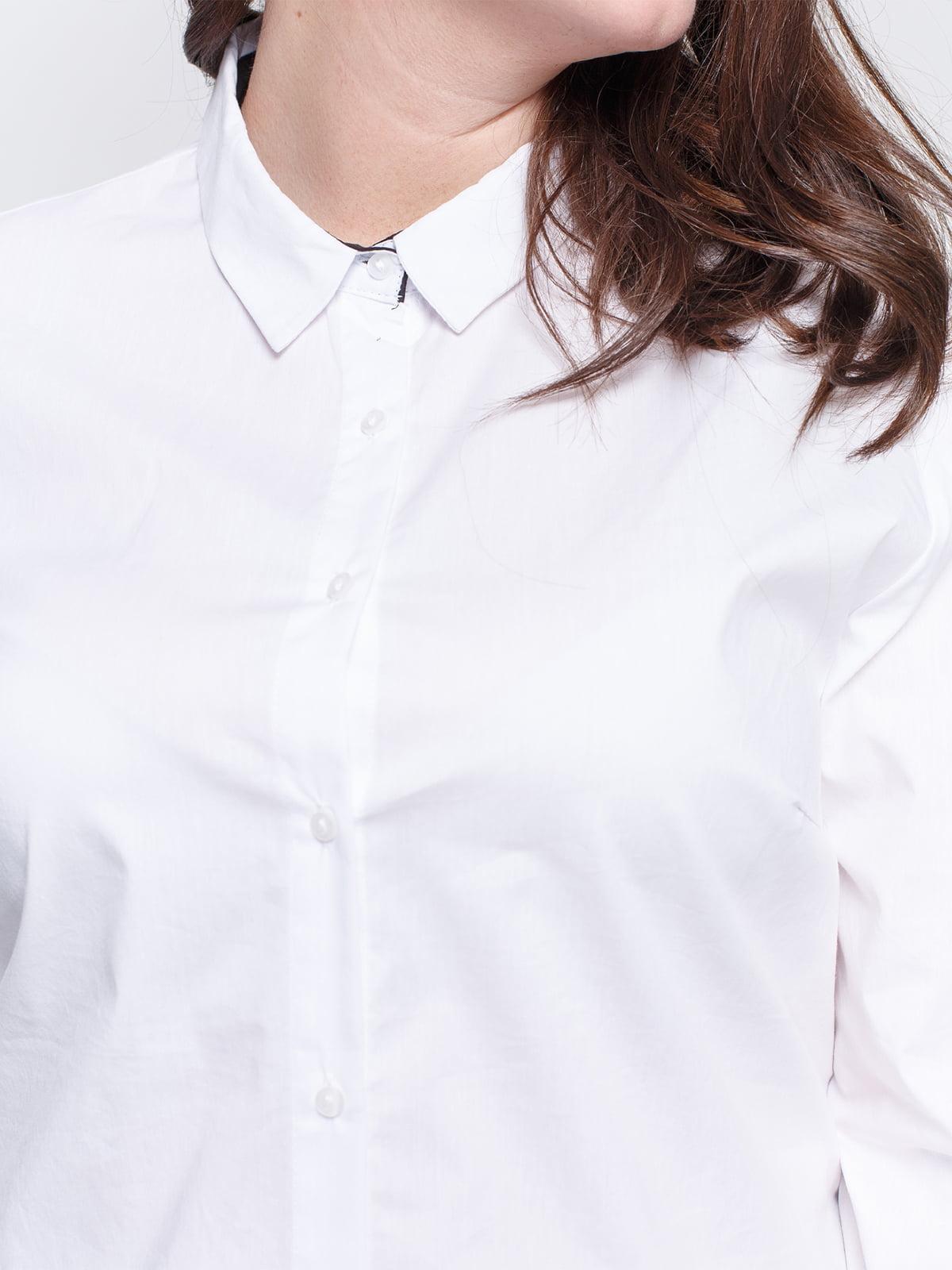 Рубашка белая   4629570   фото 3