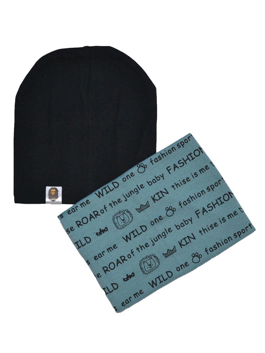 Комплект: шапка и шарф-хомут | 4870519