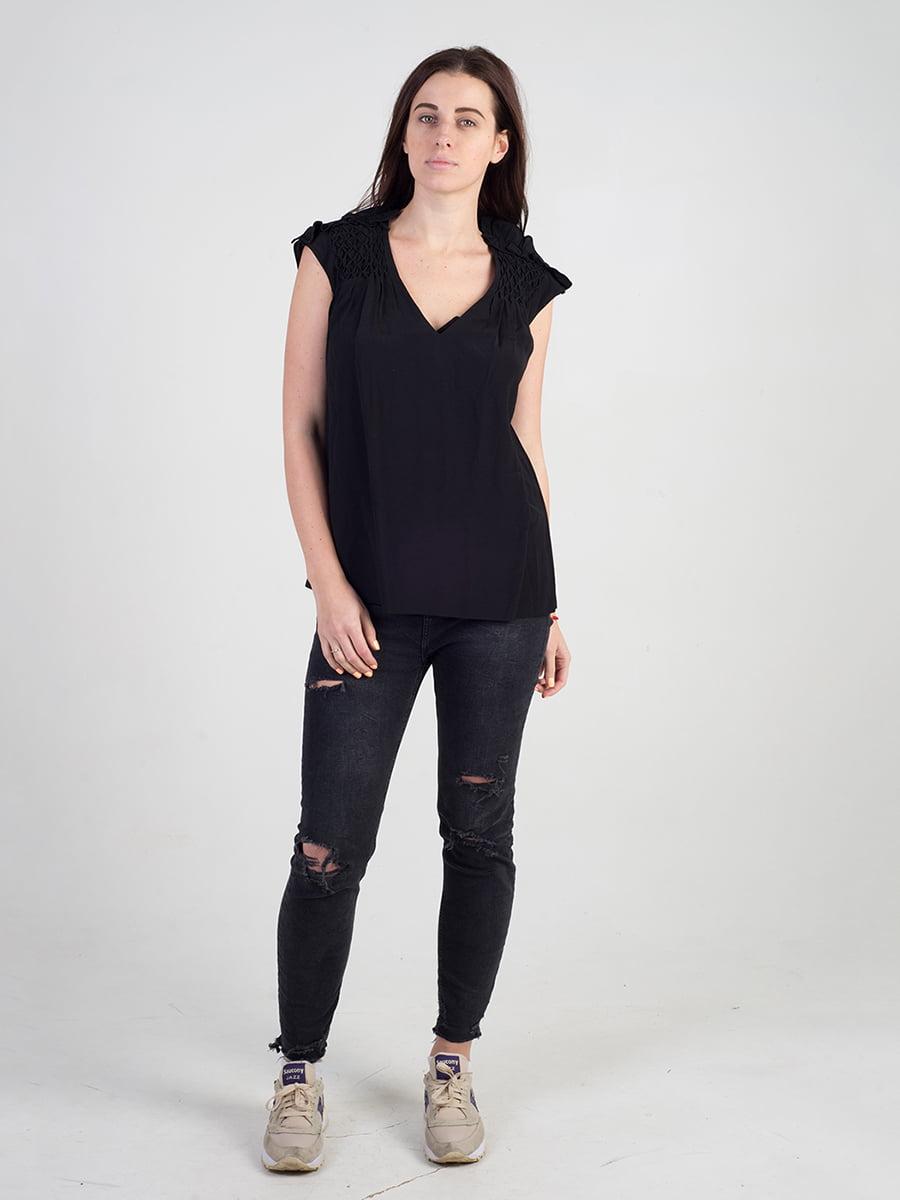 Блуза черная | 3165948 | фото 5