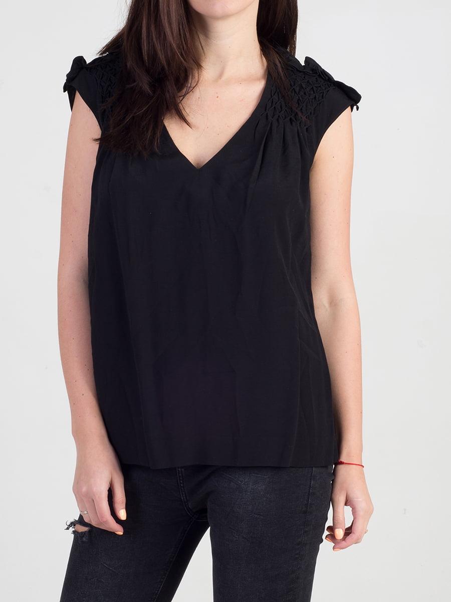 Блуза черная | 3165948 | фото 7