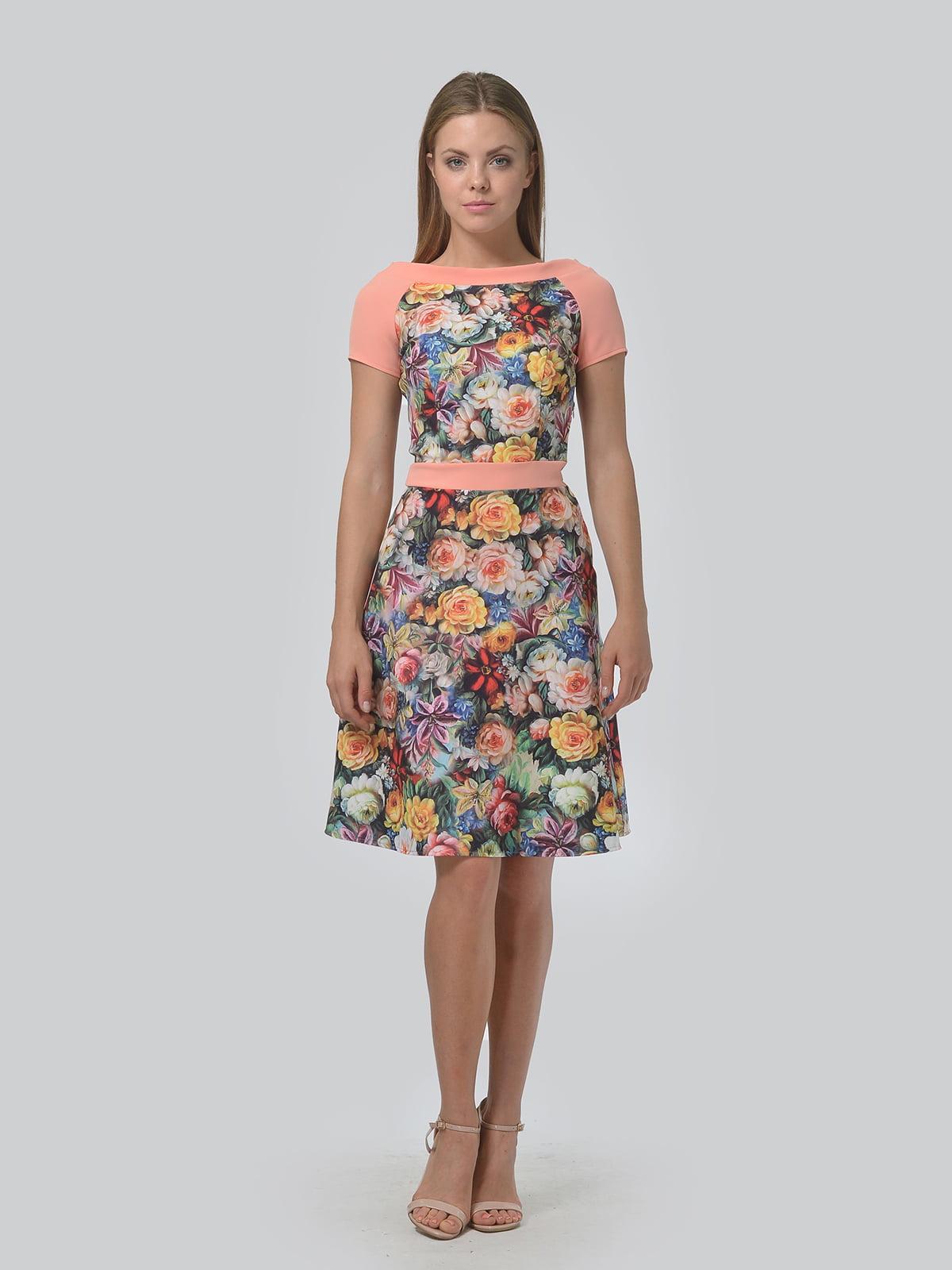 Платье в цветочный принт | 4630357 | фото 2
