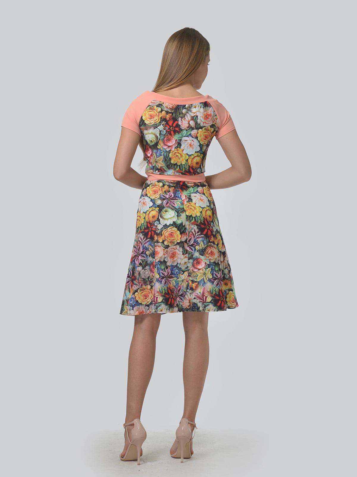 Платье в цветочный принт | 4630357 | фото 3