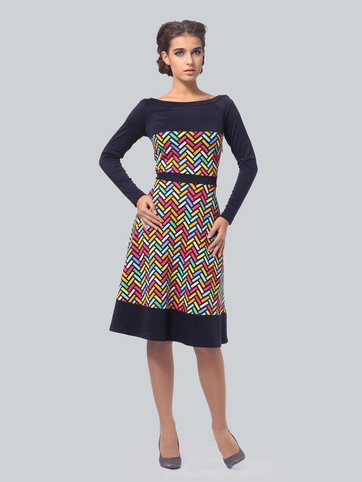 Платье в принт | 4783681 | фото 2