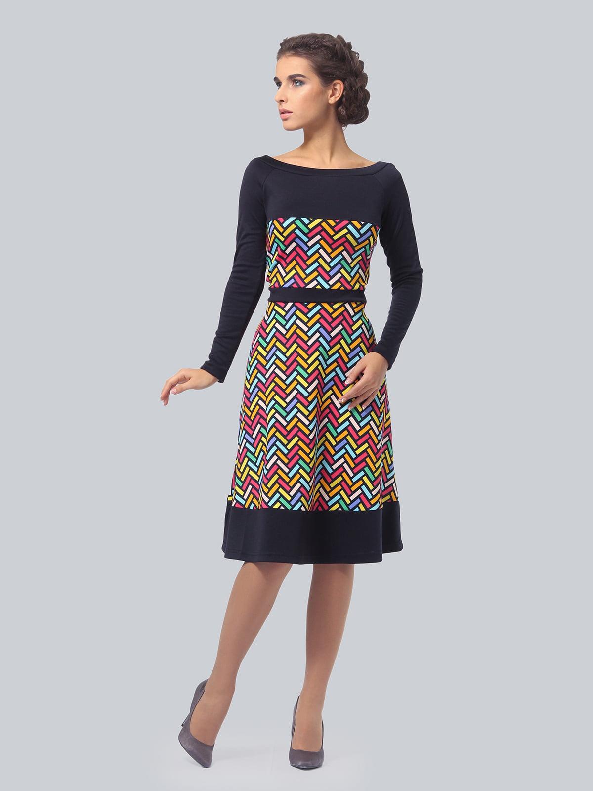 Платье в принт | 4783681 | фото 3