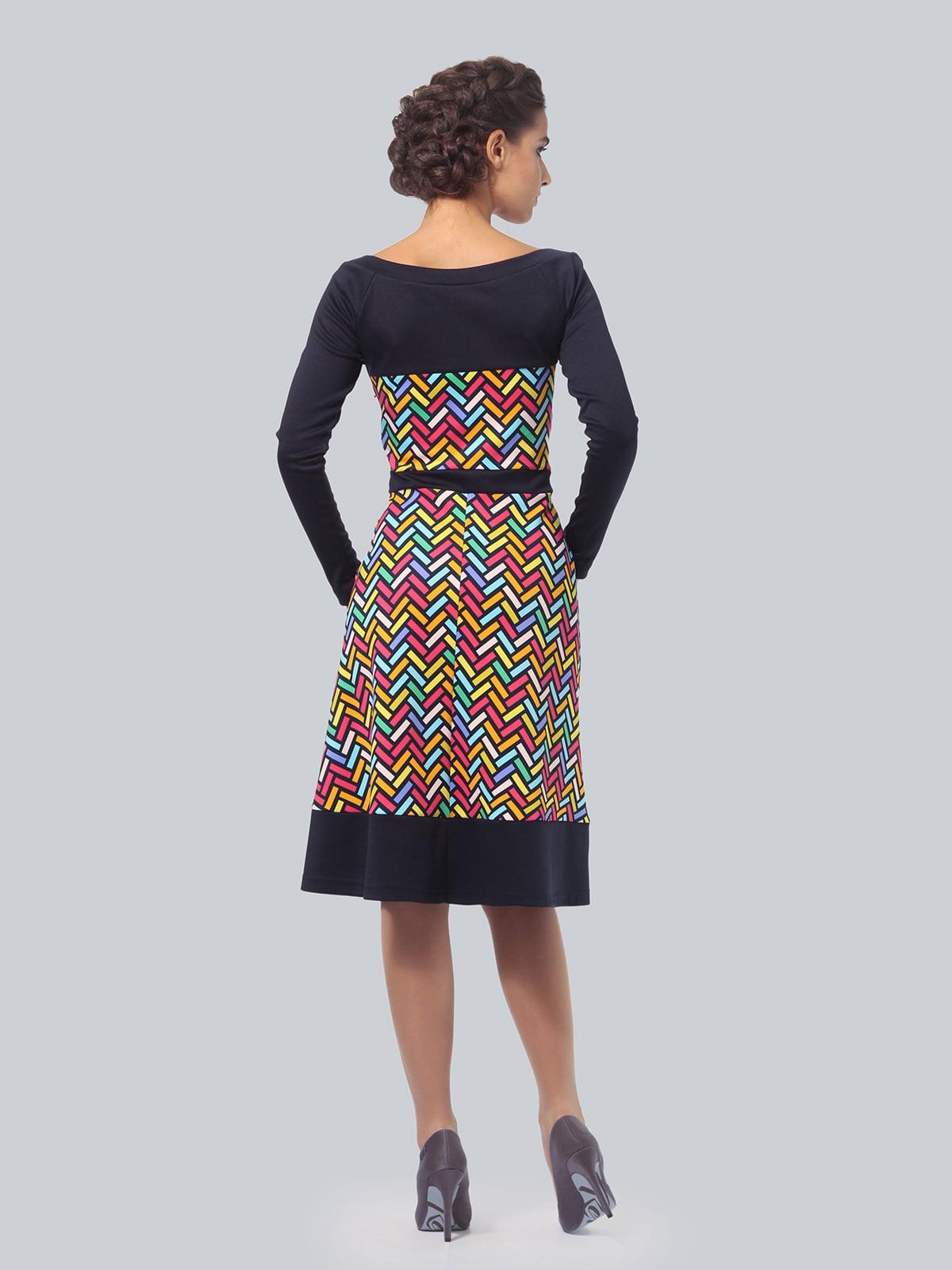 Платье в принт | 4783681 | фото 4