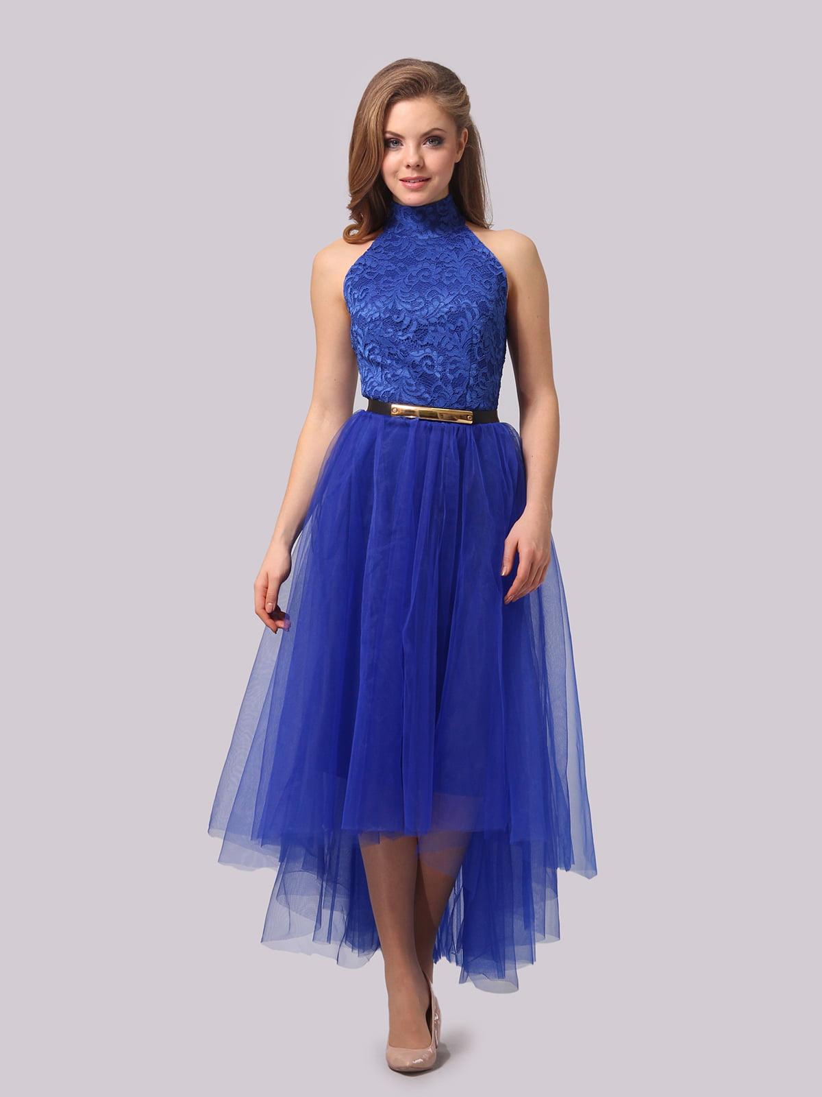 Платье цвета электрик   4864331