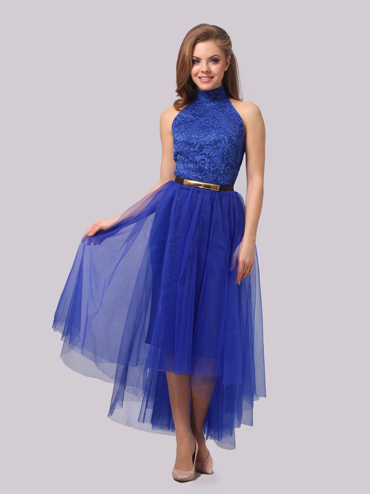 Платье цвета электрик   4864331   фото 2