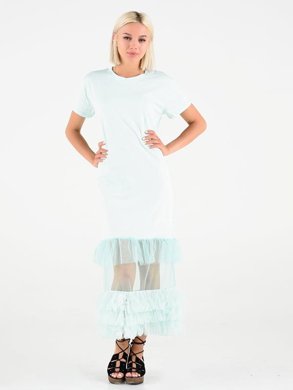 Сукня м'ятного кольору   4581143