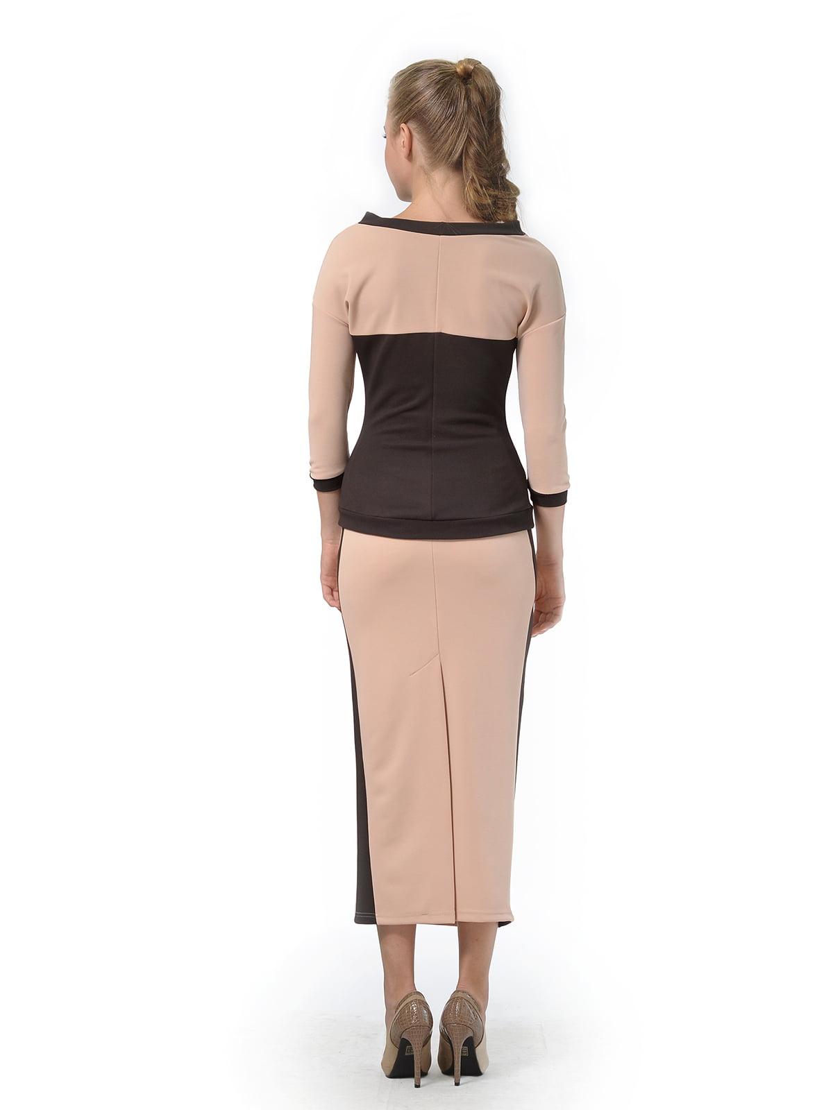 Комплект: джемпер и юбка | 4783678 | фото 2