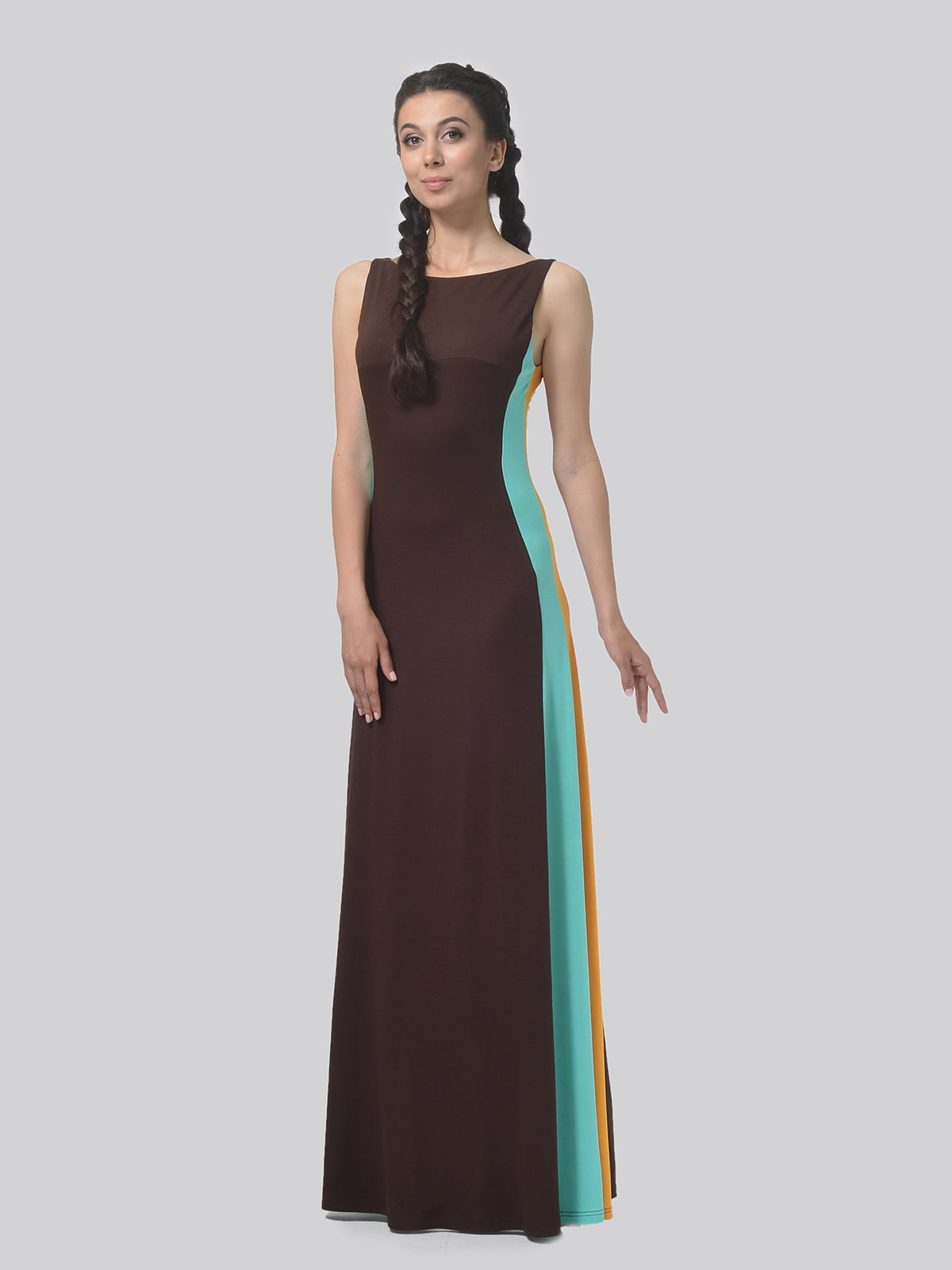 Платье комбинированной расцветки   4783685   фото 3