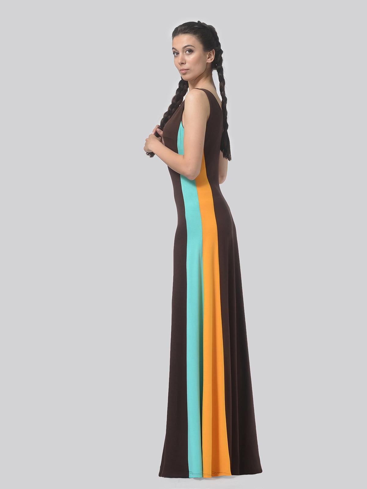 Платье комбинированной расцветки   4783685   фото 4
