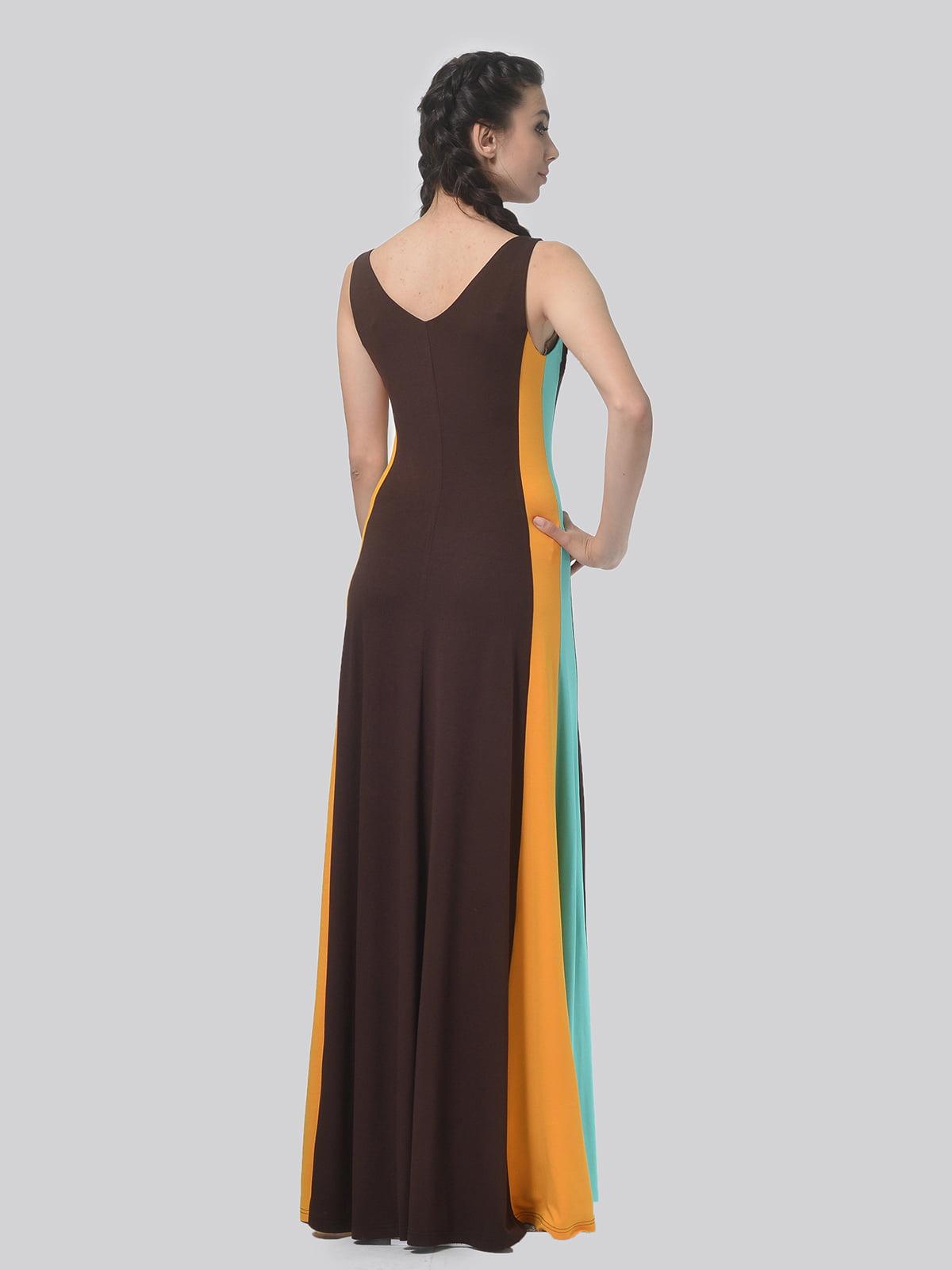 Платье комбинированной расцветки   4783685   фото 5