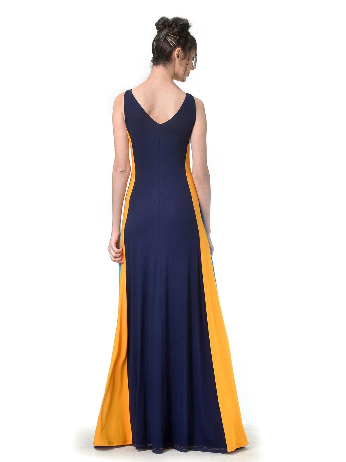 Платье комбинированной расцветки | 4783686 | фото 2