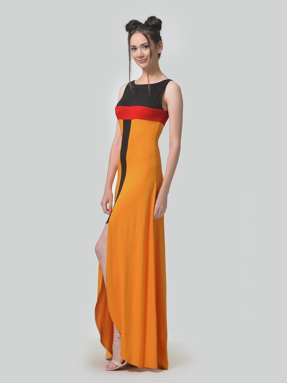 Платье комбинированной расцветки   4840317   фото 2