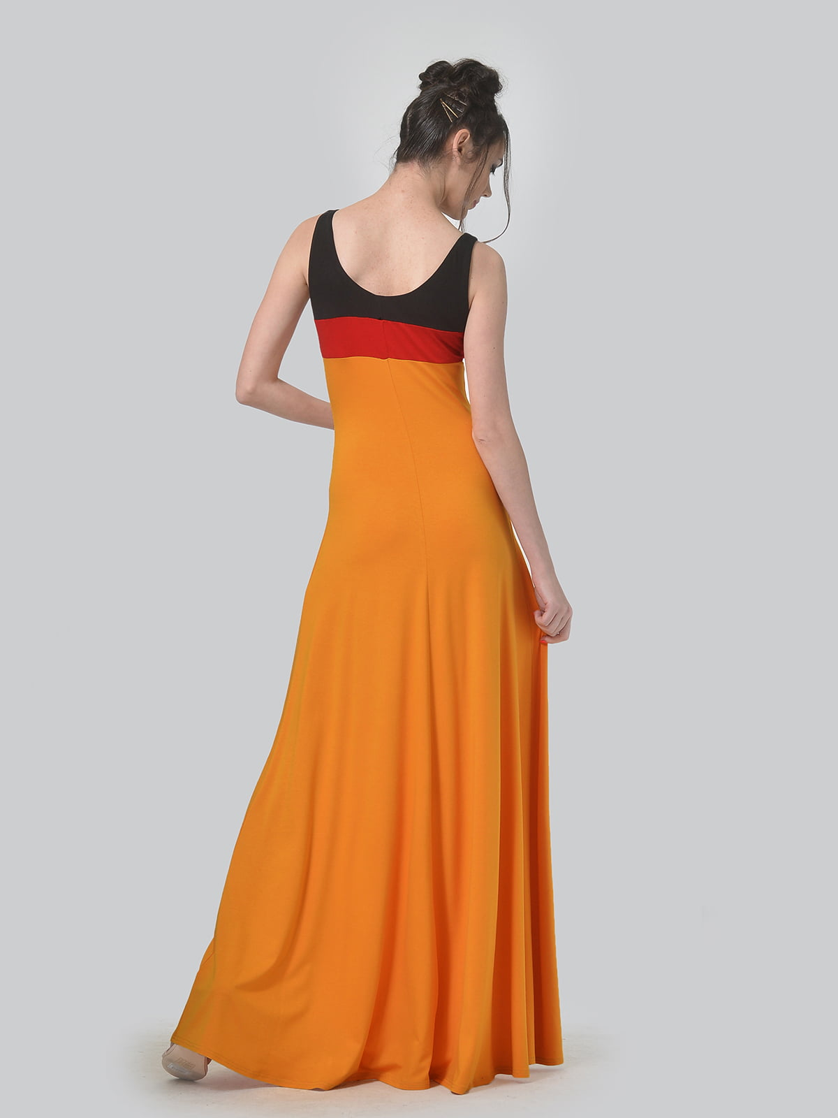 Платье комбинированной расцветки   4840317   фото 3