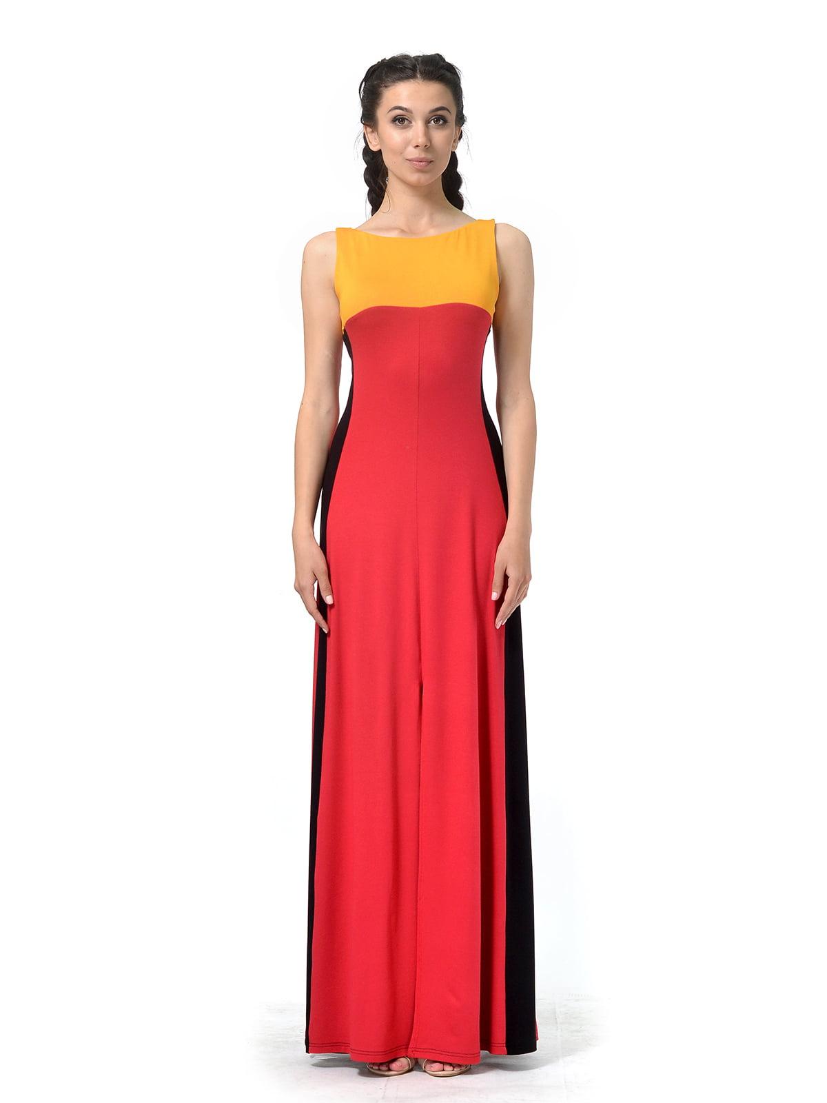 Сукня комбінованого забарвлення | 4840318