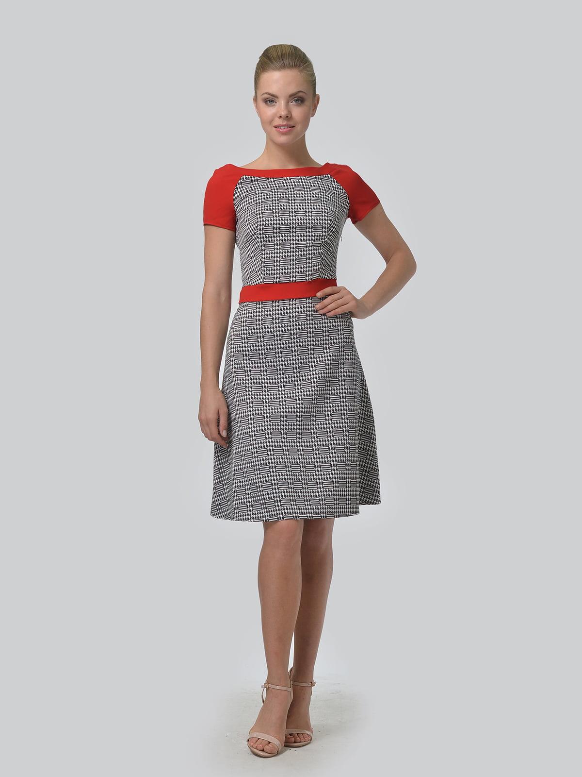 Платье в принт | 4864333