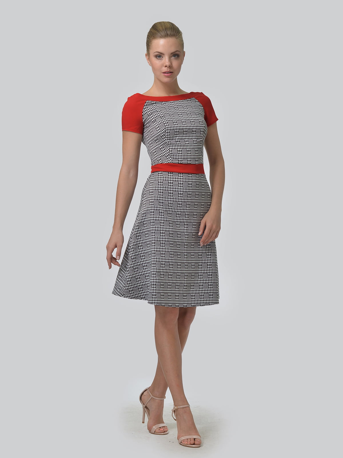 Платье в принт | 4864333 | фото 2